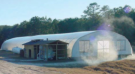 Greenhouse raceways
