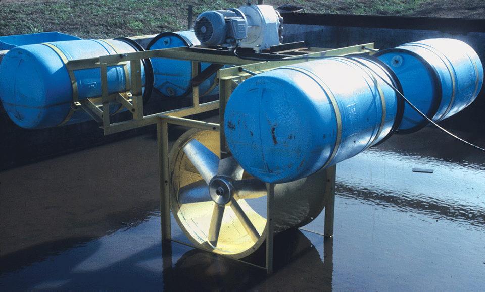 mechanical water circulation