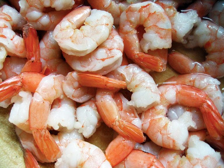 Article image for Salt, sodium in shrimp