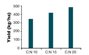 carbon:nitrogen ratios