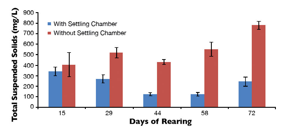 Settlling chambers