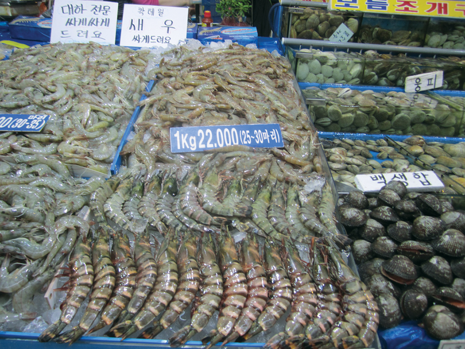 Article image for Seafood in Korea