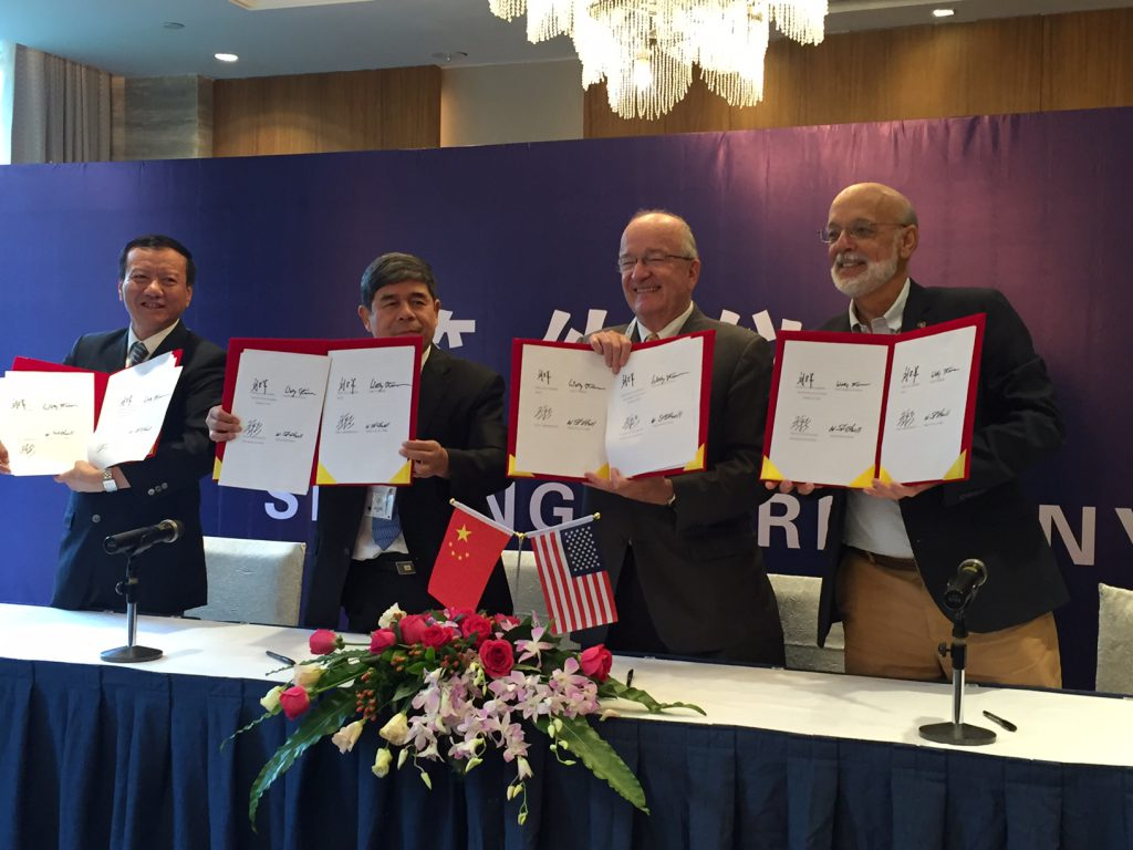 GAA Signs MoU with CNCA, CIQA, SHA to Increase Safety of Farmed Seafood