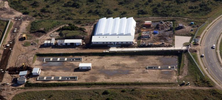 South Africa aquaculture farm