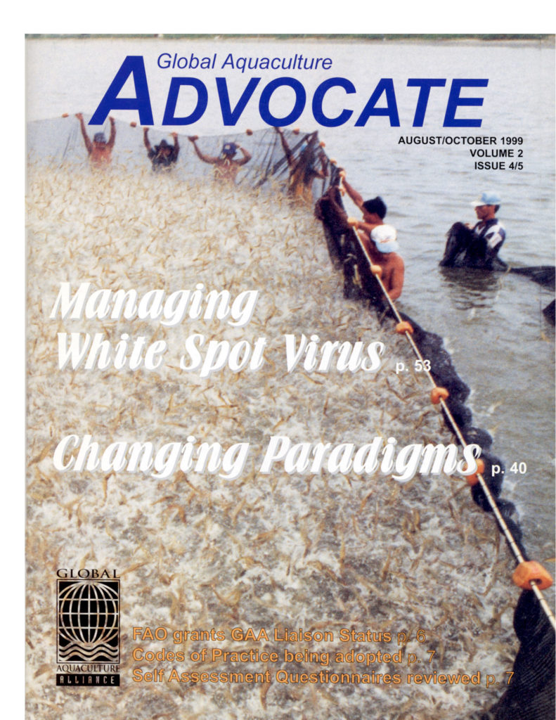 Global Aquaculture Advocate October 1999