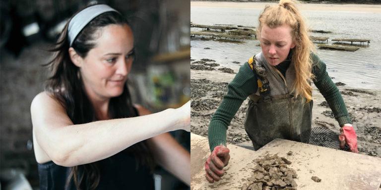 Article image for En el trabajo: muchachas de ostras de hoy en día