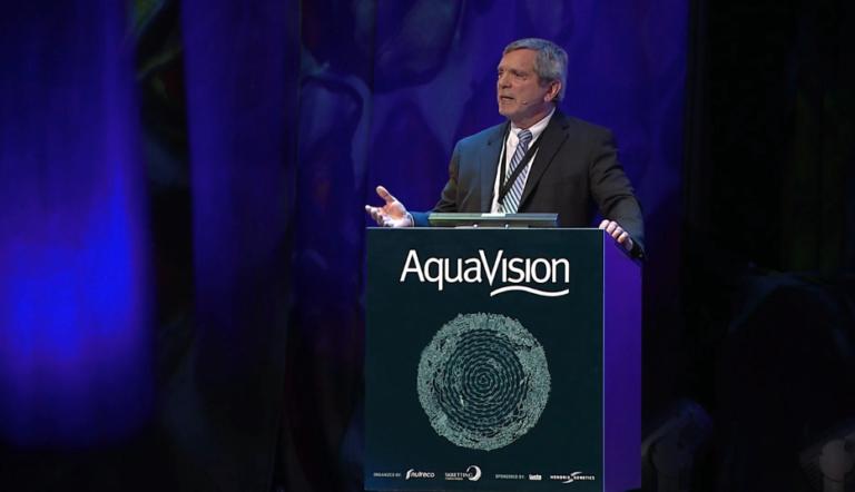 Featured image for GAA's Chamberlain Talks Future of Shrimp at Aquavision 2018