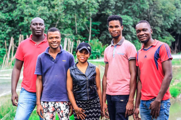 Article image for De pequeños alevines a peces grandes para productor de bagre Nigeriano
