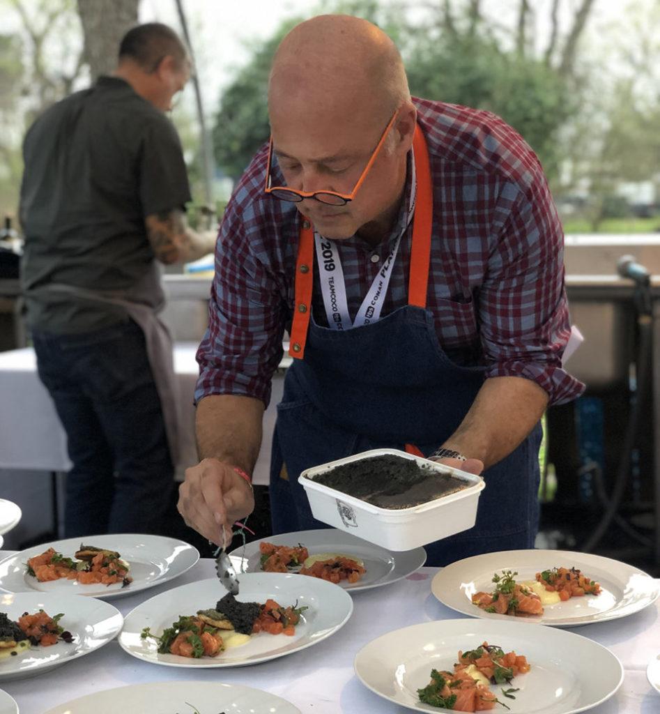 Andrew Zimmern Aquaculture