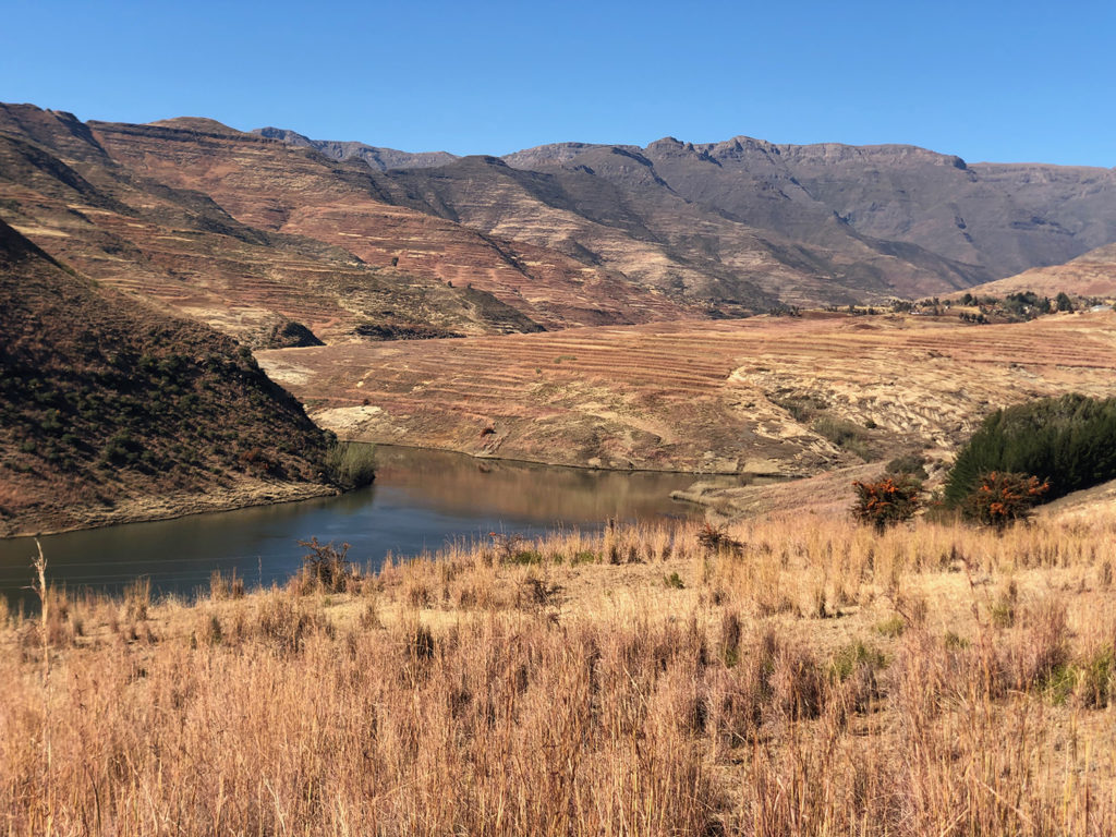 Article image for Africa's first land-based salmon farm a landmark for Lesotho