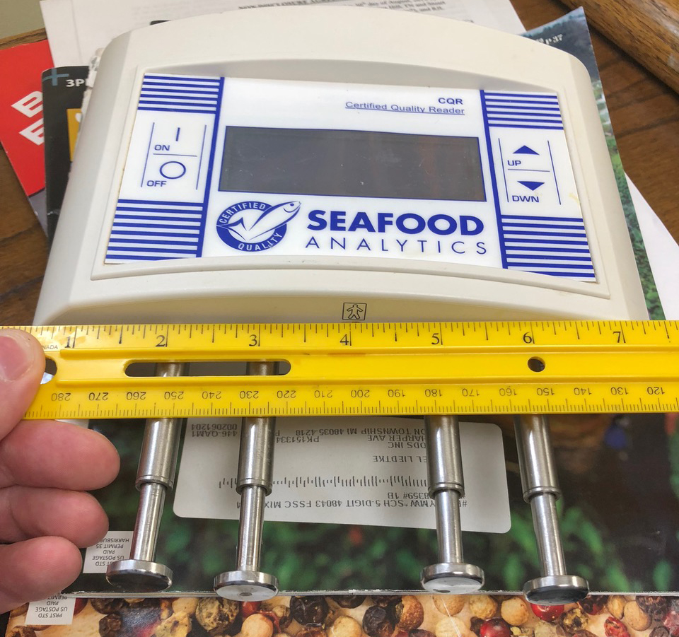 Article image for Electric company: Handheld CQR aims to crack fish-health code