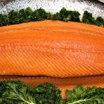 Omega-3 fatty acid composition of Atlantic salmon fillets