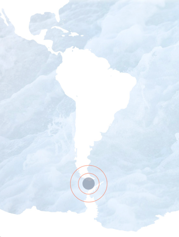 the diver chile map