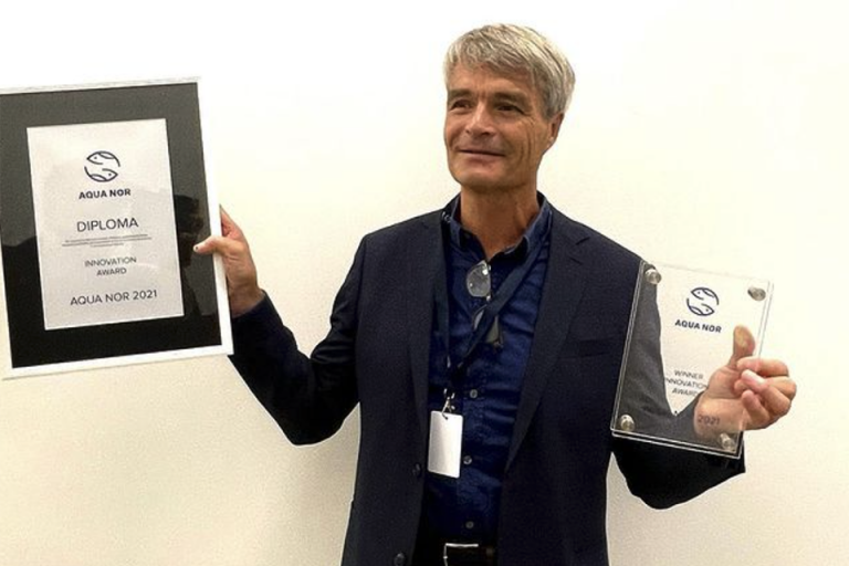 Article image for Hydrogen sulfide detector wins innovation award at Aqua Nor
