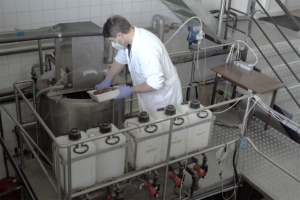 Circular economy: Hydrolysates of aquaculture byproducts as feed